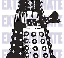 DARLEK EXTERMINATE by IamJane--