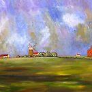 Norfolk landscape by Ivor
