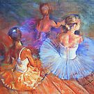 Resting Dancers by Anthony Barrow