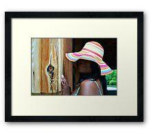 Southern Belle Framed Print