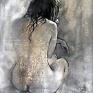 Seated Girl by Anthony Barrow