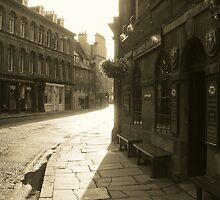 Bernard St in Sepia... by DoreenPhillips