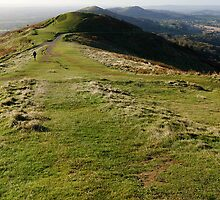 Malvern Hills from Worcestershire Beacon by Mike Church