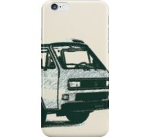 Westfailia Vanagon iPhone Case/Skin