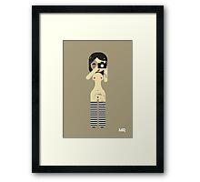 Sexy Stripes Framed Print