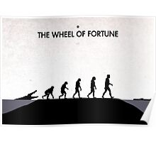 99 Steps of Progress - The wheel of fortune Poster