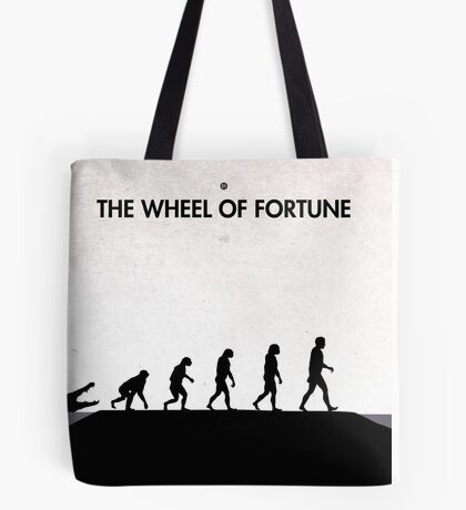 99 Steps of Progress - The wheel of fortune Tote Bag
