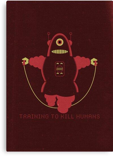 Kill Humans 1 by Marco Recuero