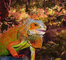 Iguana by mokacat