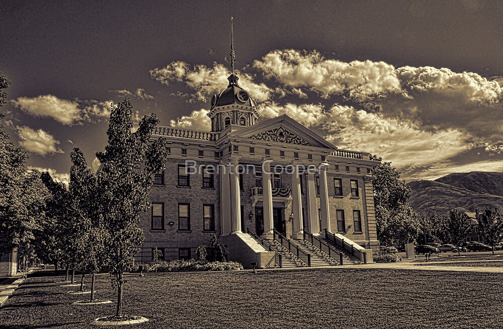Box Elder County Courthouse #2 by Brenton Cooper