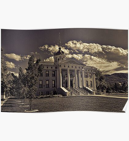 Box Elder County Courthouse #2 Poster