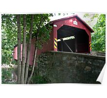 The Rishel / Montandon Covered Bridge, Circa 1827 Poster