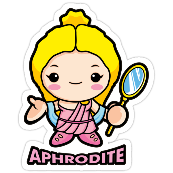 Aphrodite, the goddess of beauty by Boians