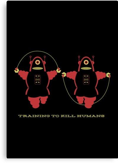 Kill Humans 2 by Marco Recuero