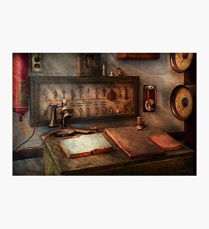 Steampunk - Electrical - My 9 to 5 job  Photographic Print