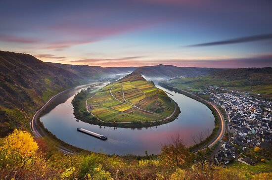 Mosel Bend by Michael Breitung