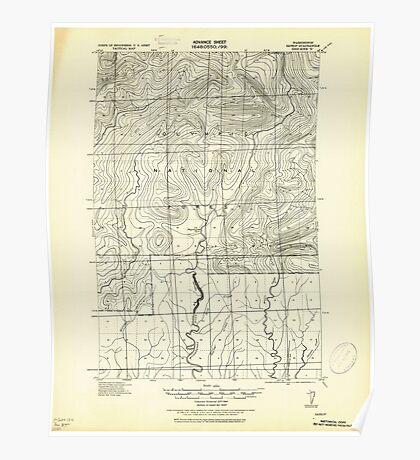 USGS Topo Map Washington State WA Satsop 243581 1921 62500 Poster