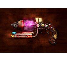 Steampunk - Gun -The neuralizer Photographic Print