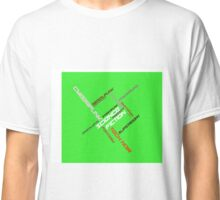 IndieSFF Science Fiction Word Cloud Classic T-Shirt