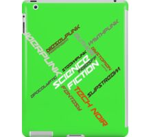 IndieSFF Science Fiction Word Cloud iPad Case/Skin