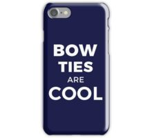 BOW TIES ARE COOL - Geek Design iPhone Case/Skin