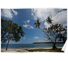 Seashore, Vanuatu, South Pacific Ocean Poster