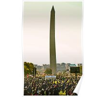 Washington Monument, Justice or Else Poster