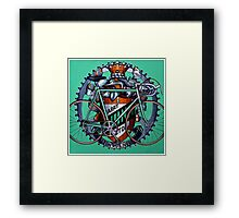 Harry Quinn time trial bicycle Framed Print