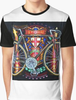 Hetchins Curly Bicycle Graphic T-Shirt