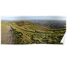 Panorama of North Hill Poster