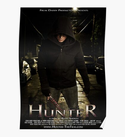 Hunter - Official Poster Poster