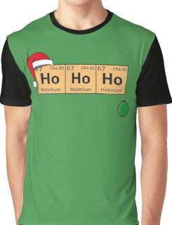 Chemistry Christmas Graphic T-Shirt