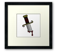 Backstab! Framed Print