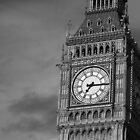 Big Ben 3 B&amp;W by photonista