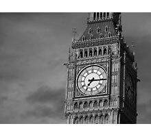 Big Ben 3 B&W Photographic Print