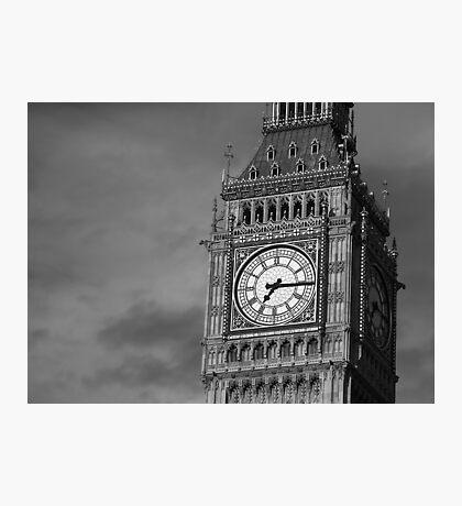 Big Ben 3 B&W Photographic Print