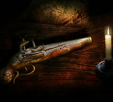 Gun - Pistol - Romance of pirateering by Mike  Savad