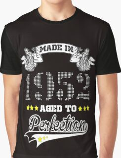 made in 1952-aged to perfection Graphic T-Shirt