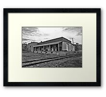 Knudson Bros Shipping Ruin Framed Print