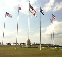The Flags of Fort Sumter 2 by travisferrell