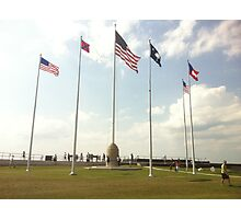 The Flags of Fort Sumter 2 Photographic Print