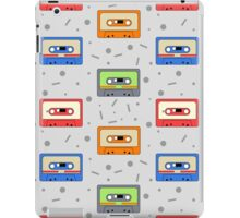 Retro audio cassettes pattern iPad Case/Skin