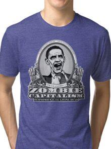 Zombie Economics Obama Edition Tri-blend T-Shirt