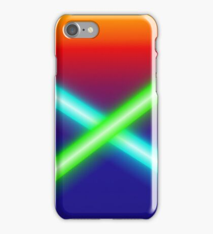 Lightsabers iPhone Case/Skin