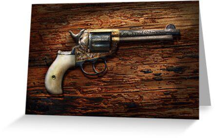 Gun- Police - True Grit by Mike  Savad