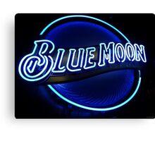 Blue Moon (2) Canvas Print