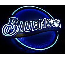 Blue Moon (2) Photographic Print