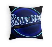 Blue Moon (2) Throw Pillow