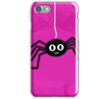 ITSY BITSY SPIDER - PINK iPhone Case/Skin