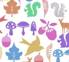 Woodlands friends Sticker